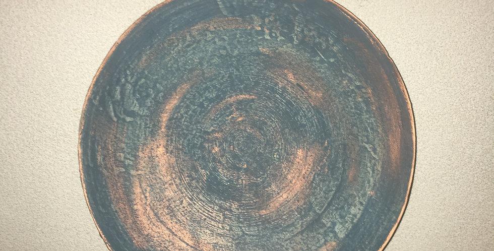 Bamboeschaal Petrol Rosé