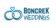 Boncrek Weddings Logo (Handrawn) on Whit