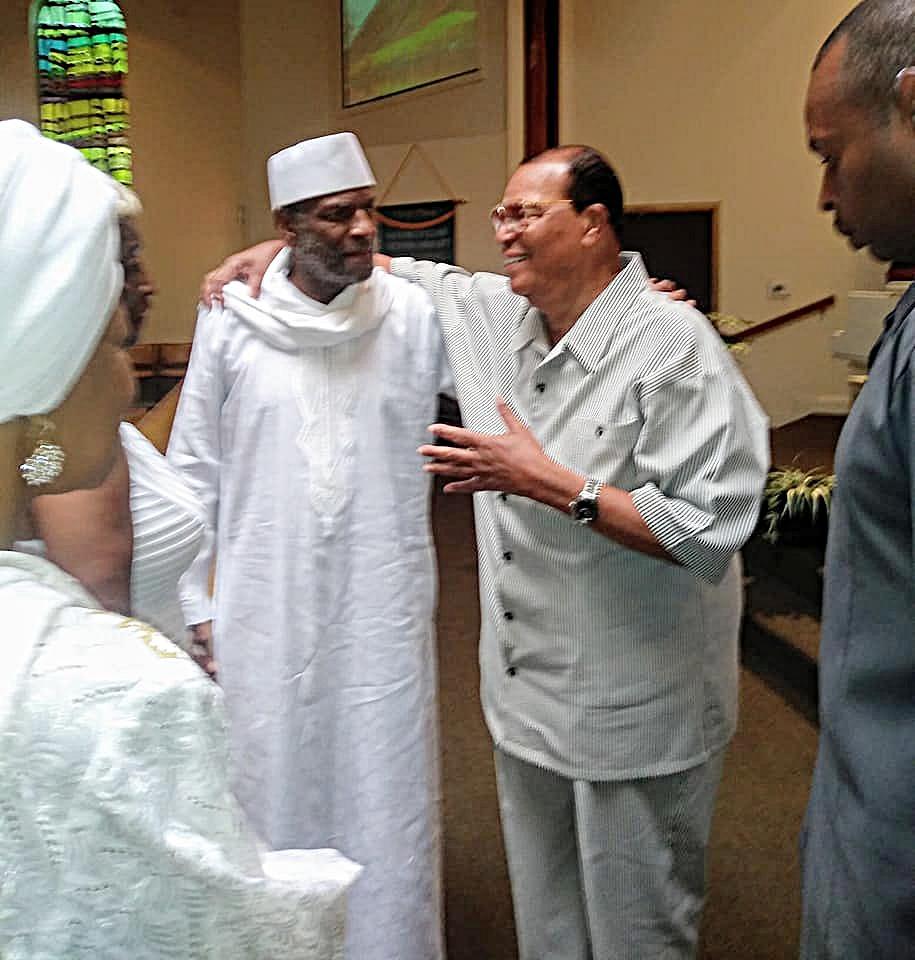 Prince Asiel & Minister Farrakhan...