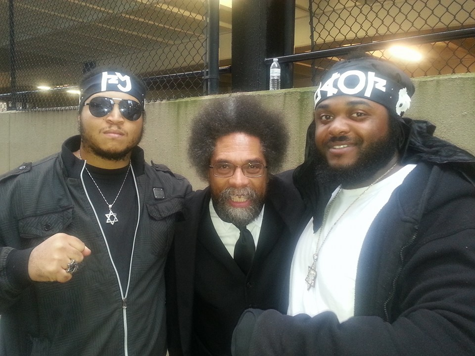 Educator Dr. Cornell West is awake!