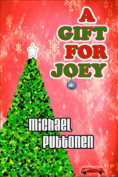 This is the cover of author Michael Puttonen's Christmas short story, A Gift for Joey.