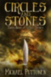 This is the cover image of author Michael Puttonen's Sanyel series book, Circles and Stones
