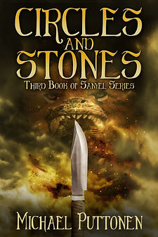 This is the cover image of author Michael Puttonen's Sanyel series book, Circles and Stones.