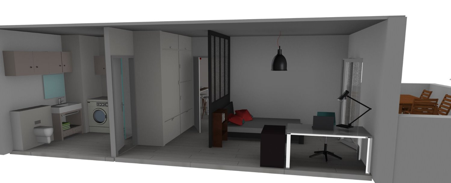 esquisse chambre