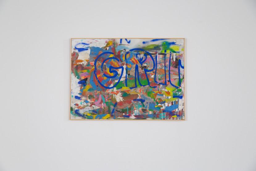 Tecnica mista su tela. 2019 / 50 x 70 cm   Mix media on canvas. 2019 / 19 x 27 inch