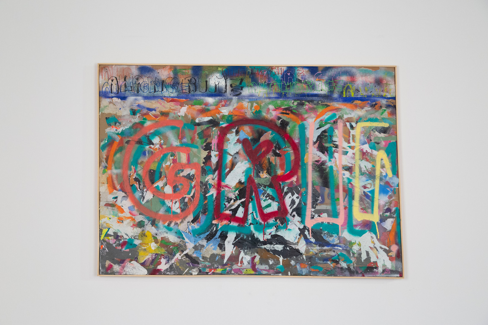 Tecnica mista su tela. 2019 / 100 x 70 cm   Mix media on canvas. 2019 / 39 x 27 inch