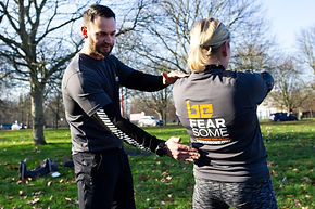 Personal training with Be Fearsome London