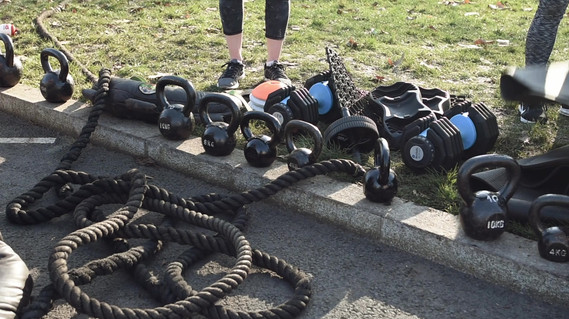 Be Fearsome Outdoor Exercise video