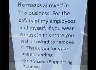 マスク着用拒否、デモは飛沫感染祭り