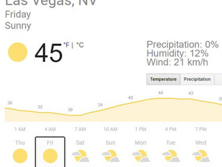 ラスベガス「極度の高温警報」発令