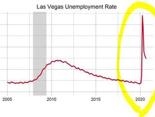 ラスベガス失業率34%→現在は?