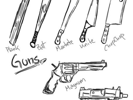 Week 3 weapons!