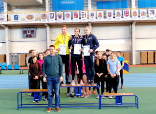У Сумах завершився чемпіонат України серед юніорів.