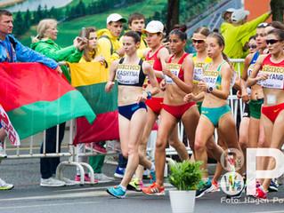 Медалі та особисті рекорди спортивної ходьби у Тайцані