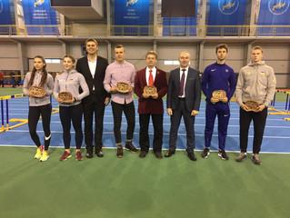 В манежі розпочався Відкритий чемпіонат Сумської області з легкої атлетики