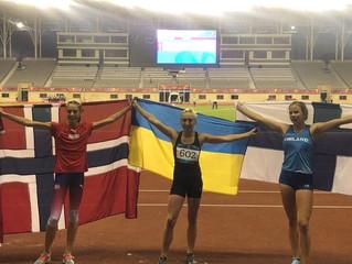 Марія Горєлова чемпіонка ХV EYOF - 2019 в стрибках у довжину.