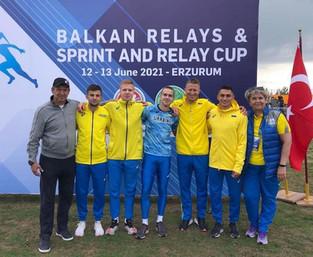 Тріумф збірної України на чемпіонаті ABAF з естафетного бігу