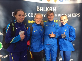 Катерина Коваль бронзова призерка чемпіонату ABAF з кросу!