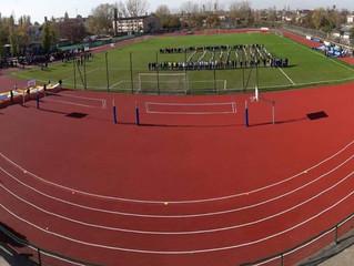 Нова легкоатлетична арена у Лазурному прийняла перші всеукраїнські змагання