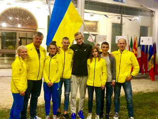 Катерина Онісімова на European U20 cross-country