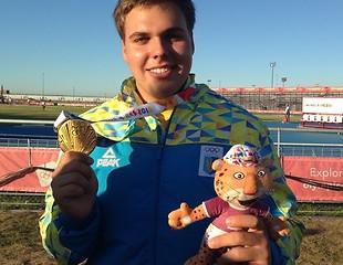 Другу поспіль юнацьку Олімпіаду виграє український молотобоєць Михайло Кохан