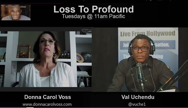 New Episode of Loss To Profound with Val-Uchendu _Becoming Profound-Episode 1_ Learn how my guests h