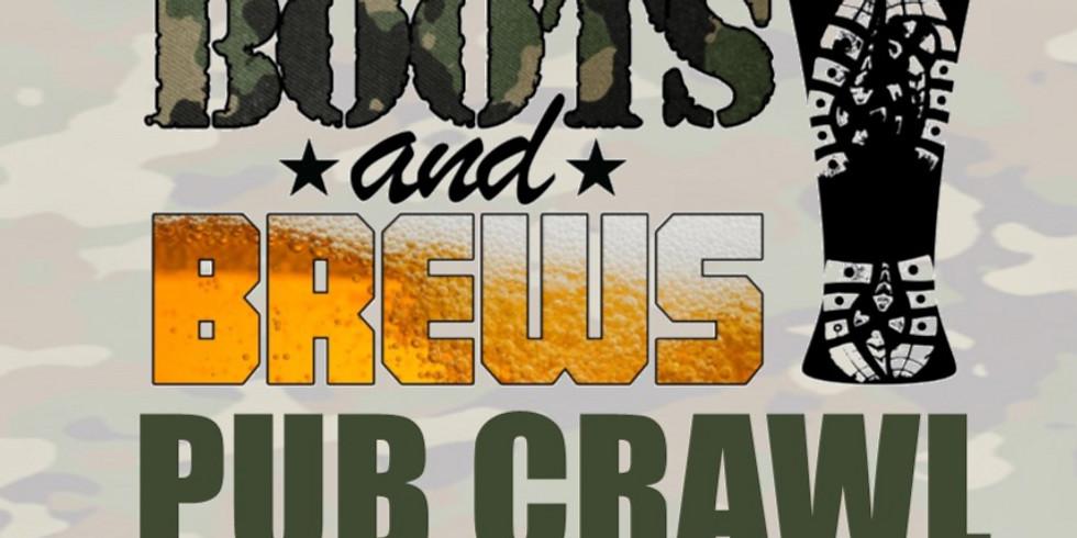 Brighton Boots and Brews Pub Crawl