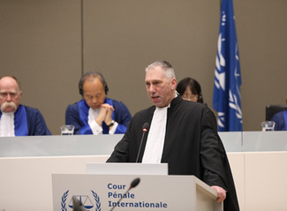 President of the ICCBA, Speaks at the Opening of the ICC Judicial Year 2020