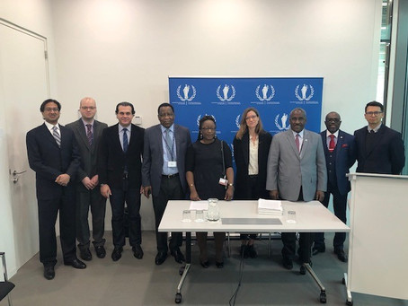 L'ABCPI et l'UIA signent un accord d'affiliation