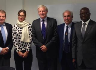 Le Président de l'ICCBA rencontre d'autres associations internationales de barre à Bruxelles