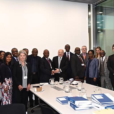 Cérémonie de signature de l'Association d'avocats africains (AFBA)