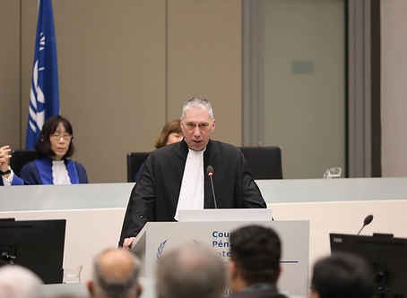 President of the ICCBA Speaks at the Opening of the ICC Judicial Year 2020