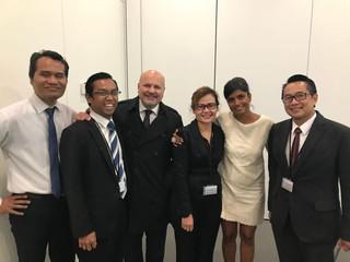 L'ABCPI participe à l'atelier des officiers judiciaires de la Cour suprême d'Indonésie