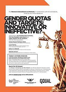 ICCBA President participates in mock debate on Gender
