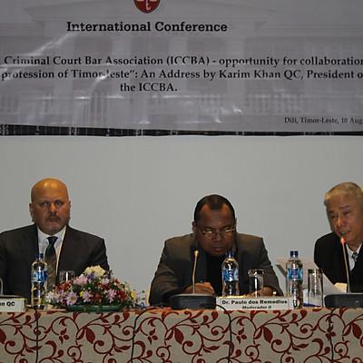 Conférence du Timor oriental