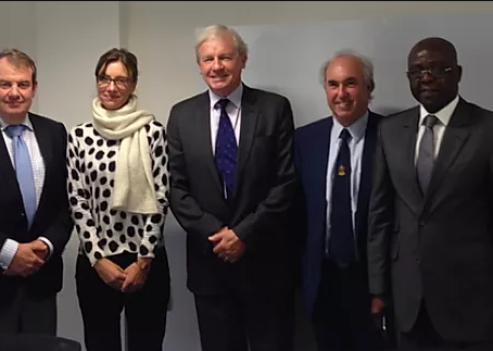 ICCBA President meets with other Bar Associations in Brussels for discussions on future cooperation