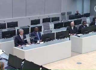La présidence de l'ABCPI assiste à une cérémonie pour les nouveaux juges de la CPI