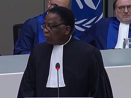 Discours du président de l'ABCPI lors de l'ouverture de l'année judiciaire de la CPI