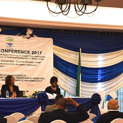 Conférence annuelle de l'Association du barreau de Sierra Leone