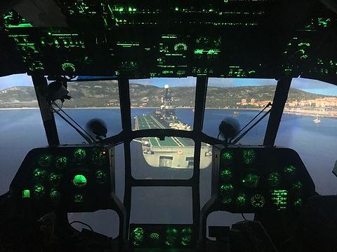 Кабина тренажера Ми-8
