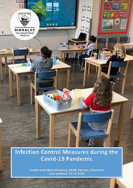 Guide and Routines related  to infection