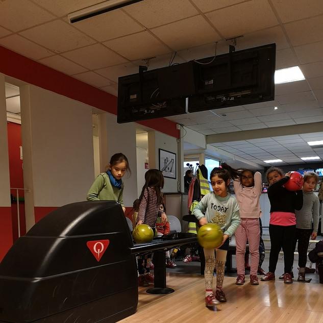 Bowling during ASP Winter Club