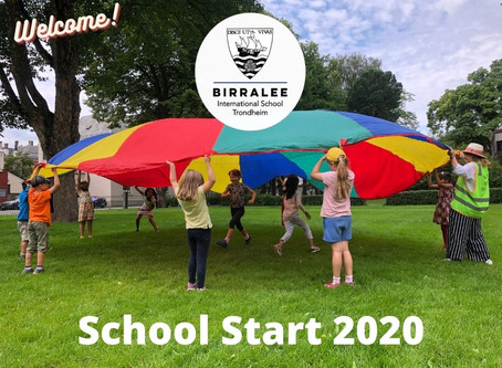 School Start 2020-2021
