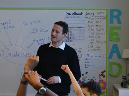 Q&A Saturday with Mr Greenhalgh