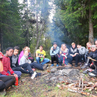 Camping Trip Year 9