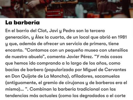 Nos ha publicado  la revista GQ como una de las 13 mejores Barberias de España