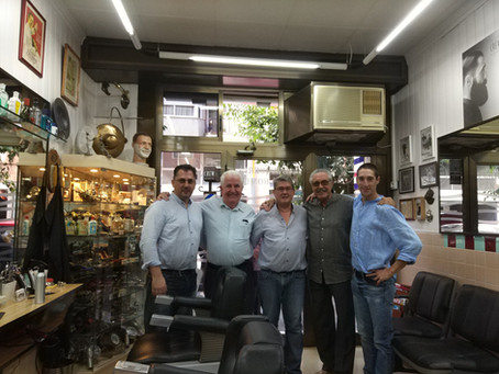 Los clientes mas antiguos de nuestro padre, desde hace mas de 54 años, con la 3 y 4 generación.
