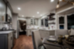 San Ramon Transitional Kitchen - Ridgecrest Designs