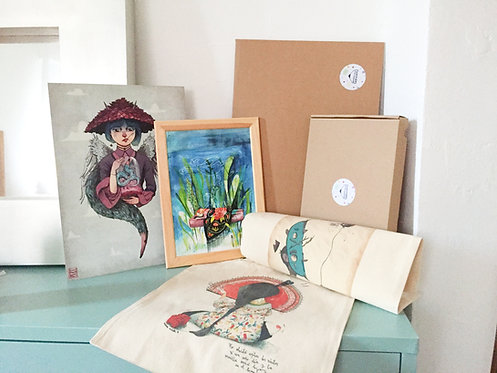 PACK Tote Bag+Lámina