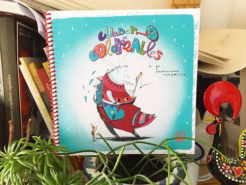 Cuaderno Láminas Coloreables JuanMa